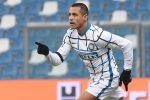 L'Inter torna a sorridere, Sassuolo steso 3-0 e raggiunto al secondo posto