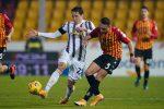 Il Benevento stoppa la Juve al Vigorito, a segno Morata e Letizia: bianconeri nervosi