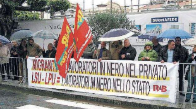 lavoro, lpu, lsu, Calabria, Politica