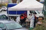 Drive-in al San Filippo di Messina, tamponi sospesi per il maltempo: 10 i positivi