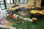 Vandali in azione a Reggio Calabria, devastato un asilo ad Arghillà: le foto