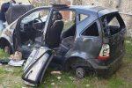 Cosenza, rimosse cinque auto abbandonate in zone diverse della città