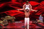 Alessandra Mussolini e Maykel Fonts - Foto Facebook Ballando con le Stelle