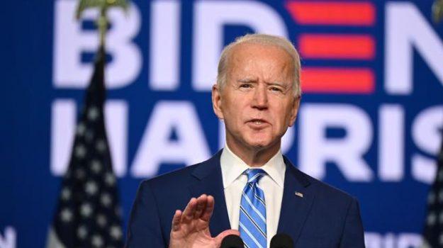 piede, presidente stati uniti, usa, Joe Biden, Sicilia, Mondo