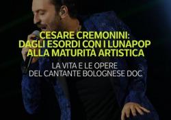 Cesare Cremonini: dagli esordi con i Lunapop alla maturità artistica I primi anni con la band e poi la svolta come solista del cantautore bolognese - Ansa