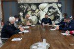 Ospedale da campo a Cosenza, nuovo briefing operativo in Comune con il sindaco Occhiuto