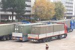 Emergenza Covid, a Cosenza i container dell'Esercito per l'ospedale da campo