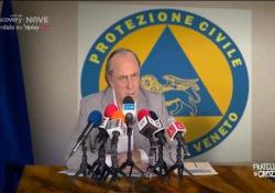Crozza-Zaia: «Per fare i tamponi chiameremo anche gli ingoiatori di spade» Il comico nei panni nel governatore del Veneto - Corriere Tv