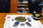 Marijuana in casa, due arresti a Catanzaro