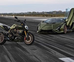 Ducati presenta il Diavel 1260 Lamborghini