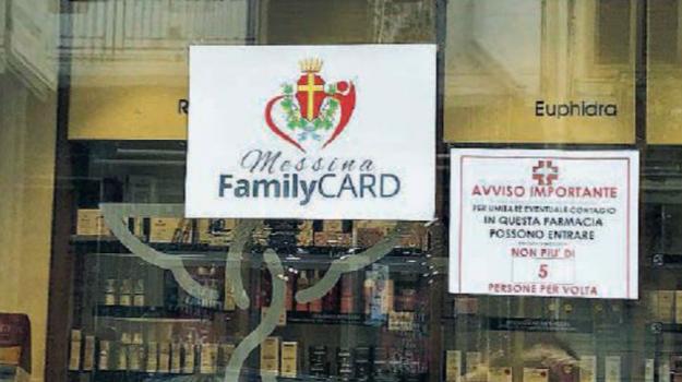 family card, Messina, Economia