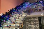 In casa di Chiara Ferragni e Fedez è già Natale, lucine telecomandate e addobbi colorati