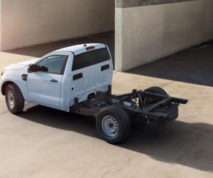 Ford Ranger ancora più versatile con la versione Chassis Cab
