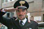"""L'addio dei Carabinieri a Gigi Proietti: """"Ti ricordiamo con il volto del Maresciallo Rocca"""""""