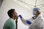In Sicilia 1634 nuovi casi di coronavirus e 43 decessi
