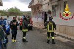 Incendio in un'abitazione a Catanzaro, anziano muore nel rogo