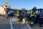 Incidente sulla 106 alle porte di Crotone, feriti due automobilisti