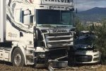 Terribile scontro tra auto e tir tra Francavilla e Cassano, muore un uomo di Lamezia