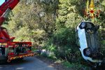 Limbadi, finisce fuori strada con l'auto: ferito il conducente