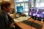 Gazzetta del Sud in classe, il videocollegamento con i liceali del Maurolico di Messina
