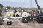 A Cosenza i militari al lavoro per l'ospedale da campo: 40 posti letto, laboratori e turni h24
