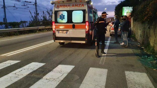 incidente stradale, messina, mili, pedone investito, tremestieri, Messina, Sicilia, Cronaca