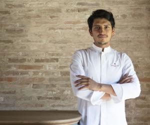 Poggio Rosso di Borgo S.Felice conquista la stella Michelin con lo chef Quintero