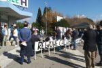 Manifestazione in difesa della sanità, in pochi alla manifestazione di Lamezia Terme - Foto