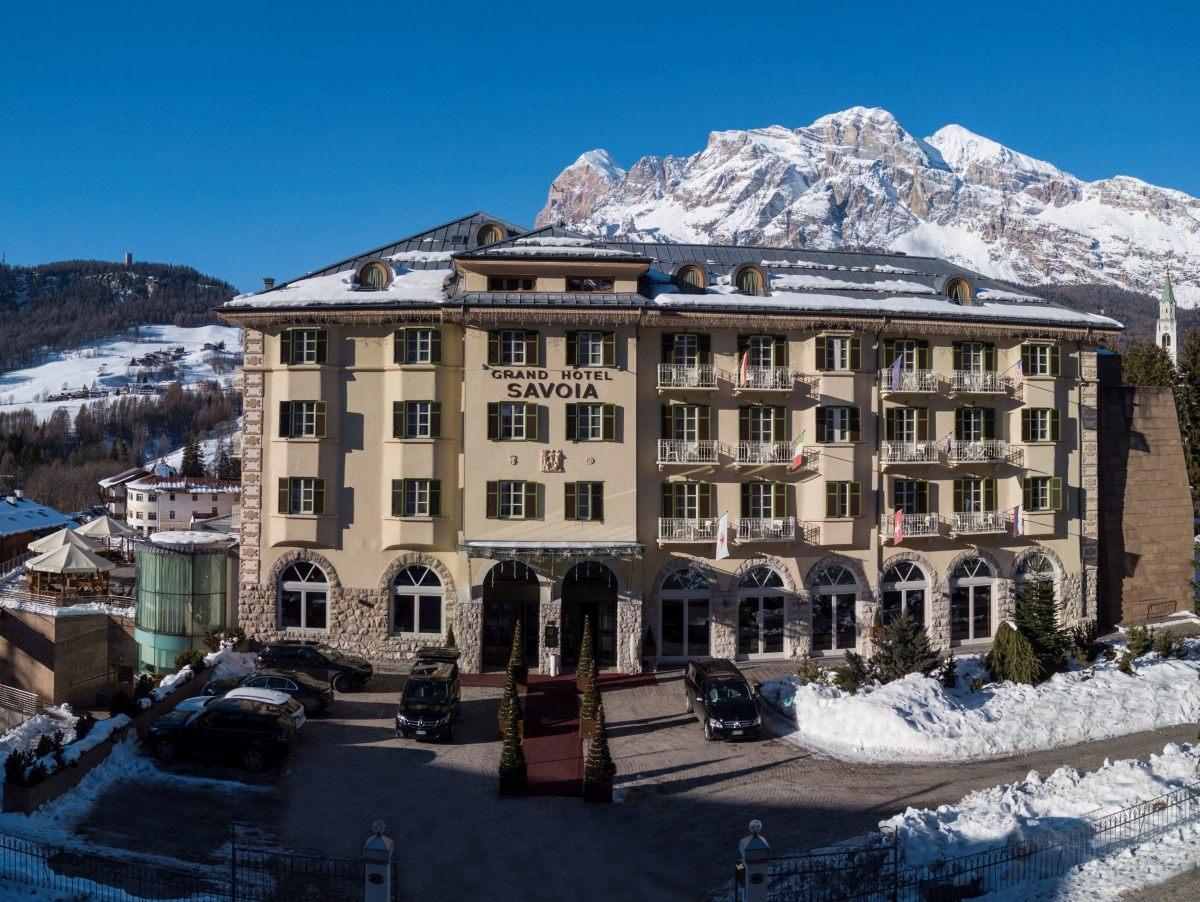 Riapre il Grand Hotel Palace Cortina d'Ampezzo - Gazzetta ...