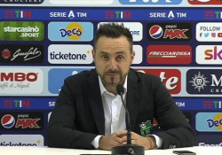 Sassuolo, De Zerbi: «Questa vittoria ci da consapevolezza» Il tecnico dei neroverdi dopo la vittoria in trasferta contro il Napoli - Ansa