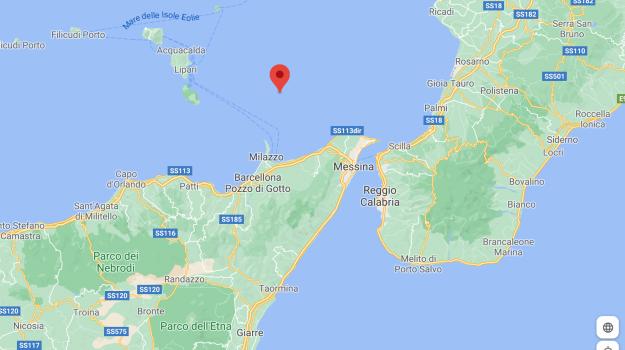 eolie, milazzo, terremoto, Messina, Sicilia, Cronaca