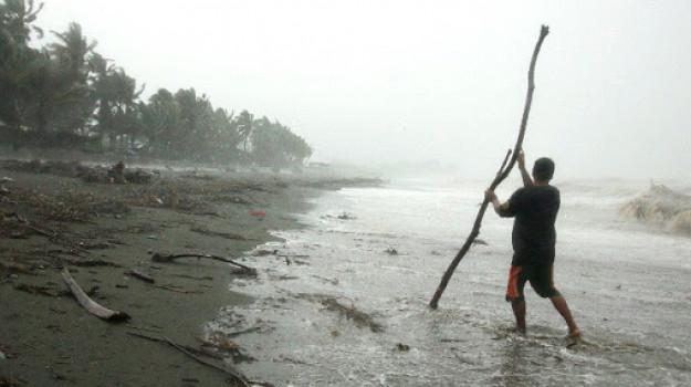 filippine, tifone, Sicilia, Mondo