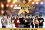 """Teatro Ariston, premiati gli 8 vincitori di """"Area Sanremo"""": ecco chi sono"""