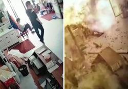 Violenta esplosione in un ristorante in Cina: le fiamme avvolgono tutto il locale Trentaquattro i feriti, non in pericolo di vita - Dalla Rete