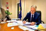 L'assessore regionale all'Agricoltura, Gianluca Gallo