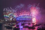Capodanno 2021: fuochi d'artificio e celebrazioni a Sydney