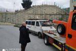Messina, gettavano rifiuti abusivamente: intercettato e bloccato un furgone alla Zir