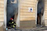 Sant'Agata Militello, incendio distrugge agenzia immobiliare