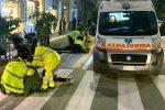 Messina, incidente su corso Cavour. Pedone travolto da uno scooter