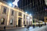 Le luci di Natale illuminano Reggio Calabria: bellissima!