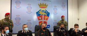 La conferenza stampa sull'arresto di Rosario Pugliese