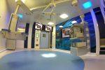 Le tre sale operatorie del centro di isteroscopia digitale più grande al mondo