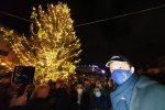 Messina, inaugurazione albero di Natale (non) a prova di assembramento