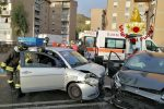 Catanzaro, incidente in viale Isonzo: tre feriti e traffico in tilt