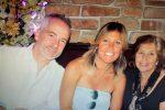 Joe, Cathy e Maria Gerace Inzitari (mamma di Cathy di Arena)