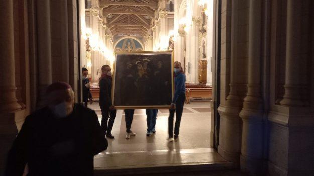 madonna della consolazione, quadro dell'eremo, reggio calabria, Reggio, Cronaca