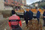 Dissesto idrogeologico: Musumeci a Messina visita il cantiere sul torrente Cataratti-Bisconte