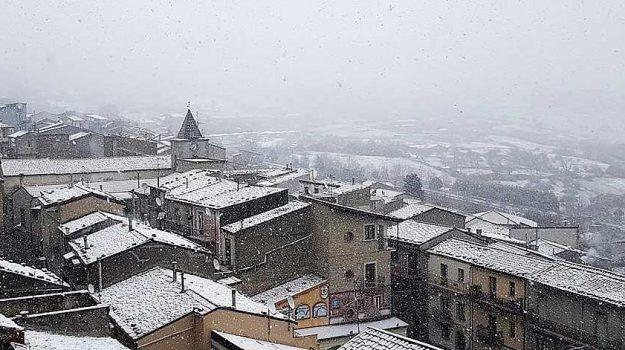 comuni nebrodi, floresta, neve, Messina, Sicilia, Cronaca