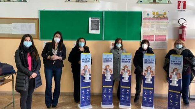 coronavirus, crotone, igienizzante, papanice, scuola, Cristina Palmirotta, Catanzaro, Cronaca