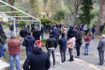 """Chiusura Terme Luigiane, i lavoratori non ci stanno e protestano: """"Si rischia di finire in mani losche"""""""